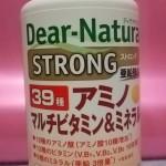 サプリメント アミノ酸、マルチビタミン、ミネラル