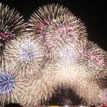 津市花火大会  2016.7.30  阿漕海岸で1万発♪